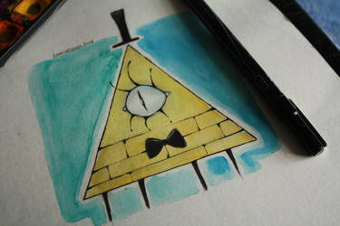 Bill Cipher by fallinforgravity
