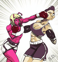 Ryona vs Veronica Part1 by Shamlessdreams