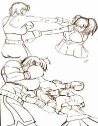 Ryona vs Myoko Preview by Shamlessdreams