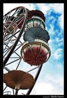 Ferris wheel by h3xman