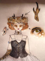 Halloween Costume Design: Fawn Details by Hedgefairy