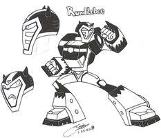 Decepticon Rumblebee by zmorphcom