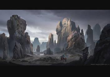 Rock(2) by rowenawangart