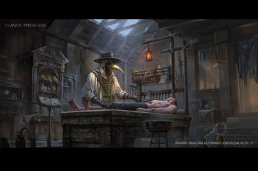Project: Black Plague(4) by rowenawangart