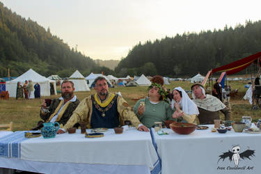 Cooks playdate- The last supper by IvanCauldwellart