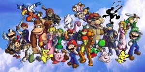 Super Smash Bros. Melee by ChetRippo