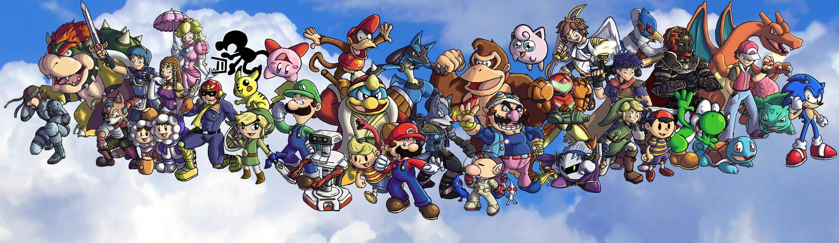 Super Smash Bros. Brawl-OLD- by ChetRippo