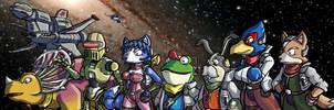 We're Star Fox by ChetRippo