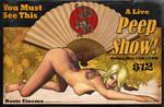 Pulp Pinup Series - PeepShow by jocachi