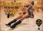 Pulp Pinup Series - Bad Girl by jocachi