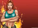 Lara wallpaper by jocachi