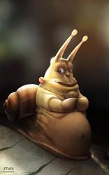 Snail by maxkostenko