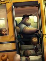 Truck driver by maxkostenko