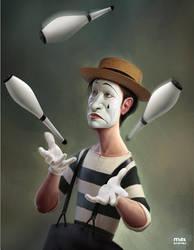 Clown by maxkostenko