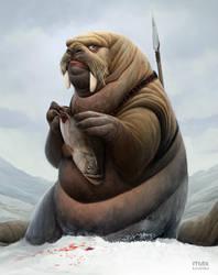 Walrus by maxkostenko