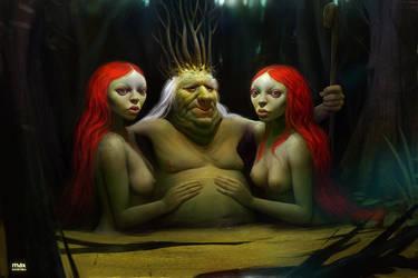 Swamp by maxkostenko
