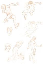Nudes in Action by Macrea