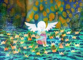 A Flock of Wishes by QueenofCuriosity