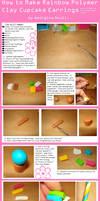 How to Make Cupcake Earrings by geurge