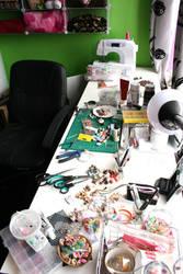 My workspace by geurge