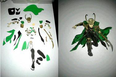 Loki 3-D art inside look by Animeartist1212