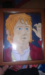 Biblo Baggins 3-D art by Animeartist1212