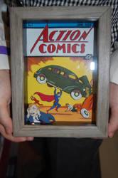Action Comics 3-D art by Animeartist1212