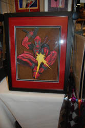 Deadpool 3-D art by Animeartist1212