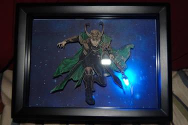 Loki 3-D art by Animeartist1212