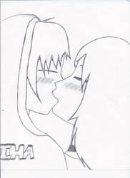 Sasusaku: My First Kiss by XJane-ChanX