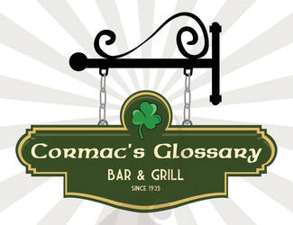Cormacs Glossary by vicigraphics