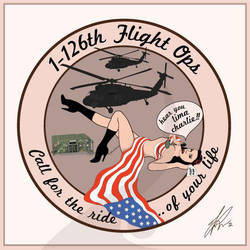 1-126th Flight Operations Patch by vicigraphics
