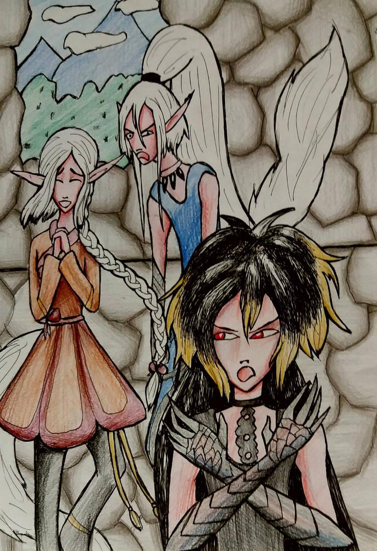 Annoyed Trio By Obelis by LadyAlluvia