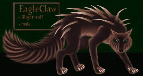 EagleClaw (Blight wolf) - COSAM by LadyAlluvia