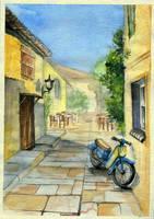 Greece by Merenwen-Tinuviel