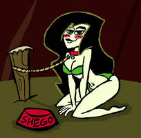 Speed Request: Go Dog Shego by RaccoonFoot