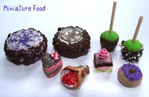 Miniature Food Set B by funkypinkgal