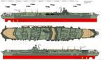 Shokaku-class Aircraft Carrier (1945) by ijnfleetadmiral