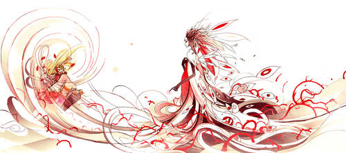 Sleeping Beauty: Baaad fairy by Razriel