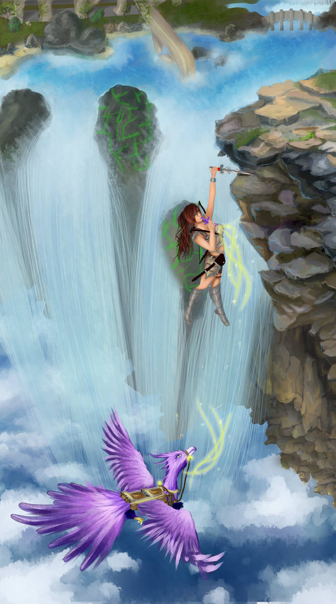 VOTE + WIN PRIZE RAFFLE: Plunge into the Skies by XBlack-MistX