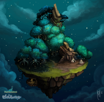 Swamp Island by AngryPotato