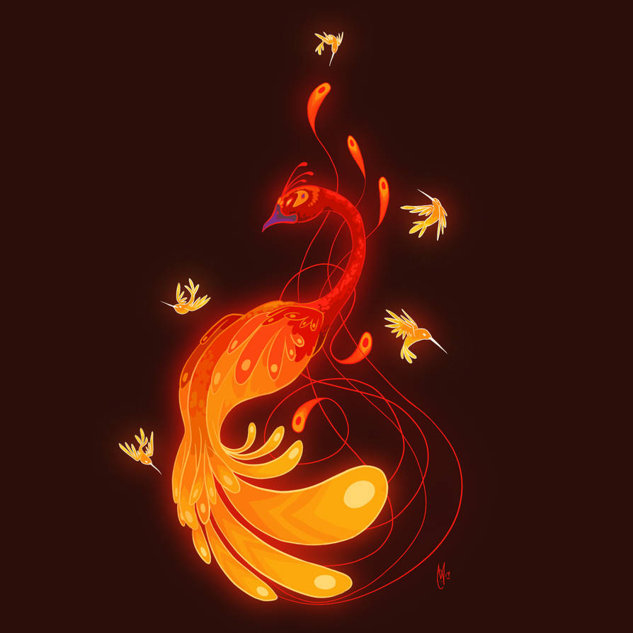 Art Prompt - Pheonix by AngryPotato