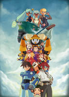 Tribute To Megaman Legends by Springs