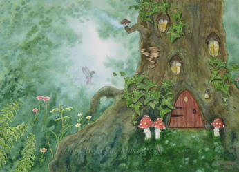 Home of the Fae. by SueMArt
