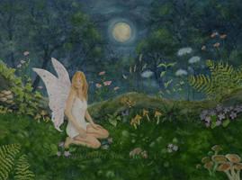 The Moonlit Fairy. by SueMArt