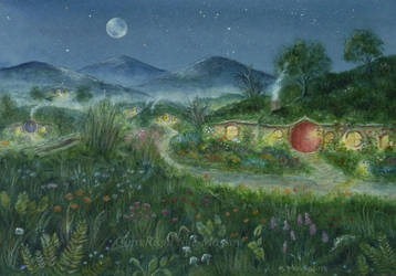 The Shire. LOTR by SueMArt