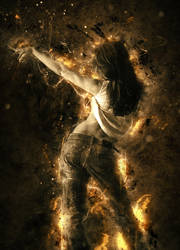 Dance of flames by fantasmadesign