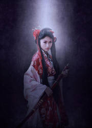 Princess Sakura Portrait by fantasmadesign