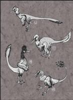 Spec Evo Challenge #5 - Buitreraptor Domestication by TheJuras