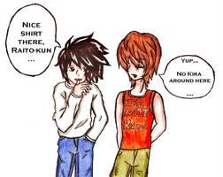 Nice Shirt There, Raito... by SirenMalirose